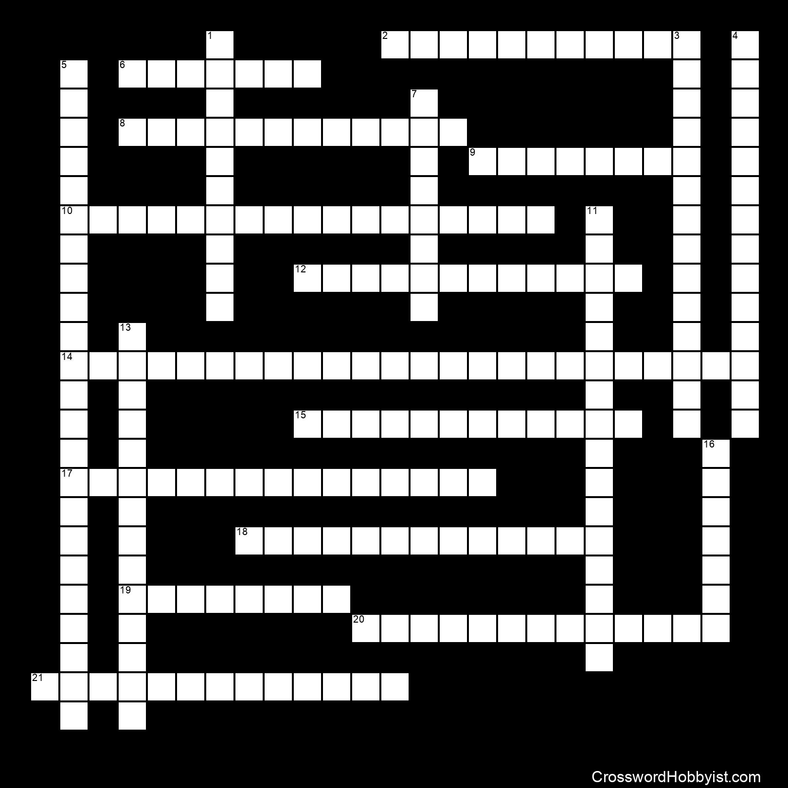CHAPTER 7 CROSSWORD - Crossword Puzzle