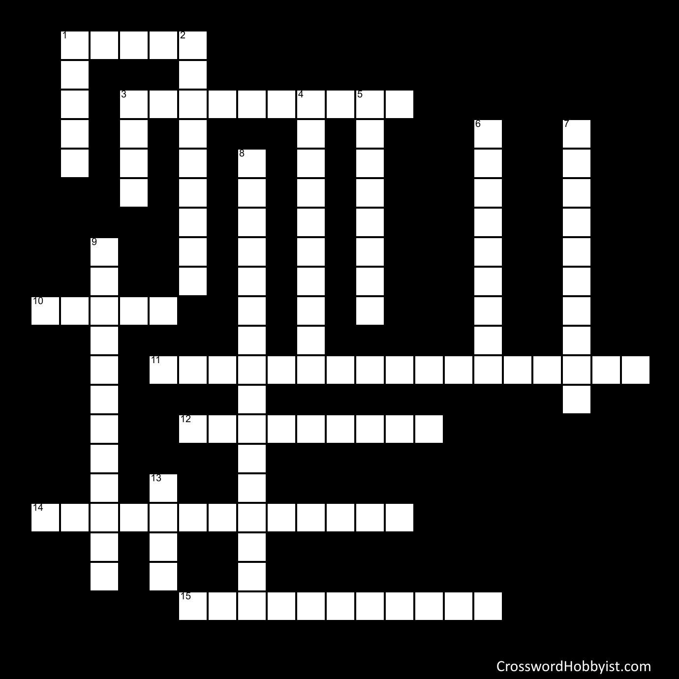 Cold Desert Biome Crossword Puzzle - Crossword Puzzle