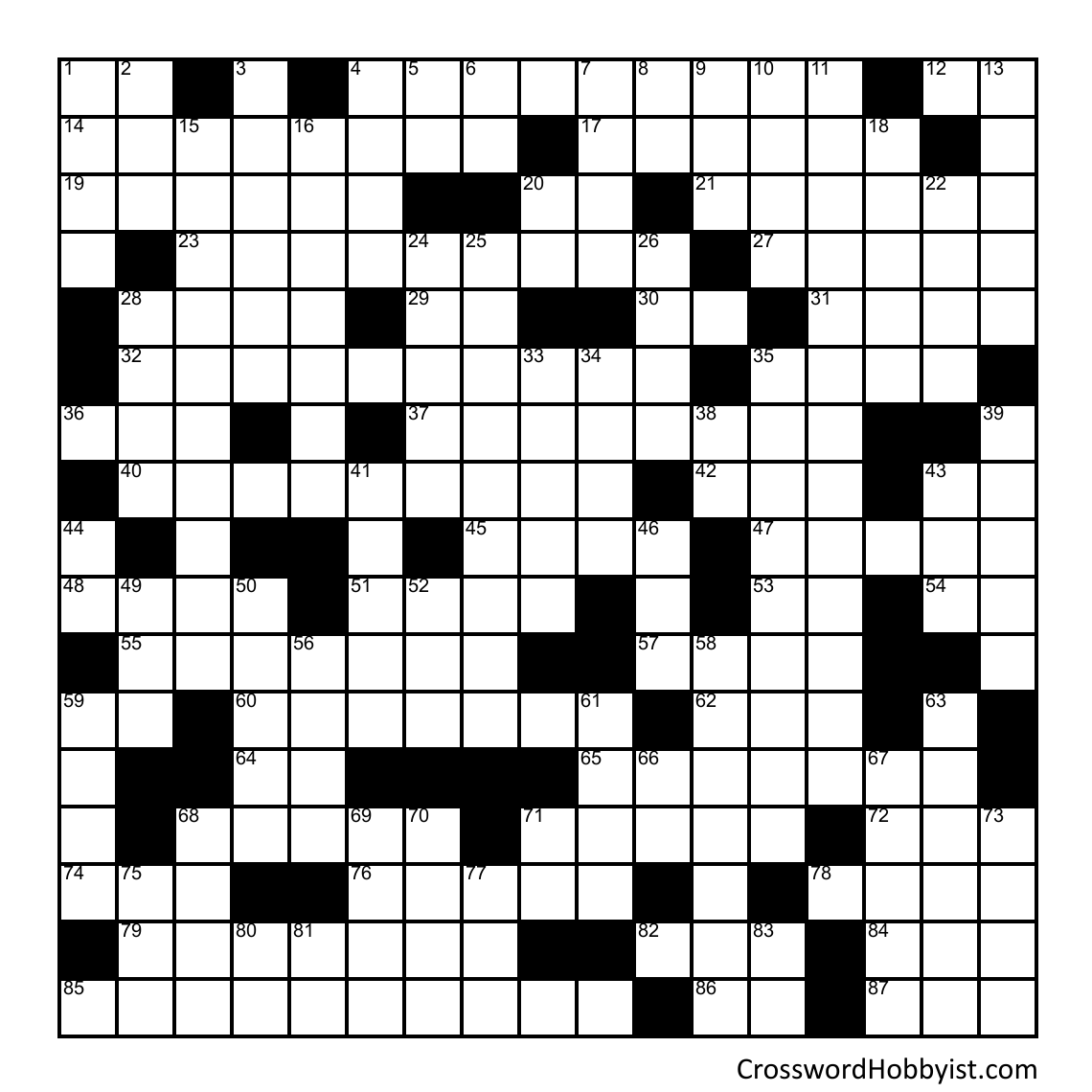 Dance to The Music June 5 - Crossword Puzzle