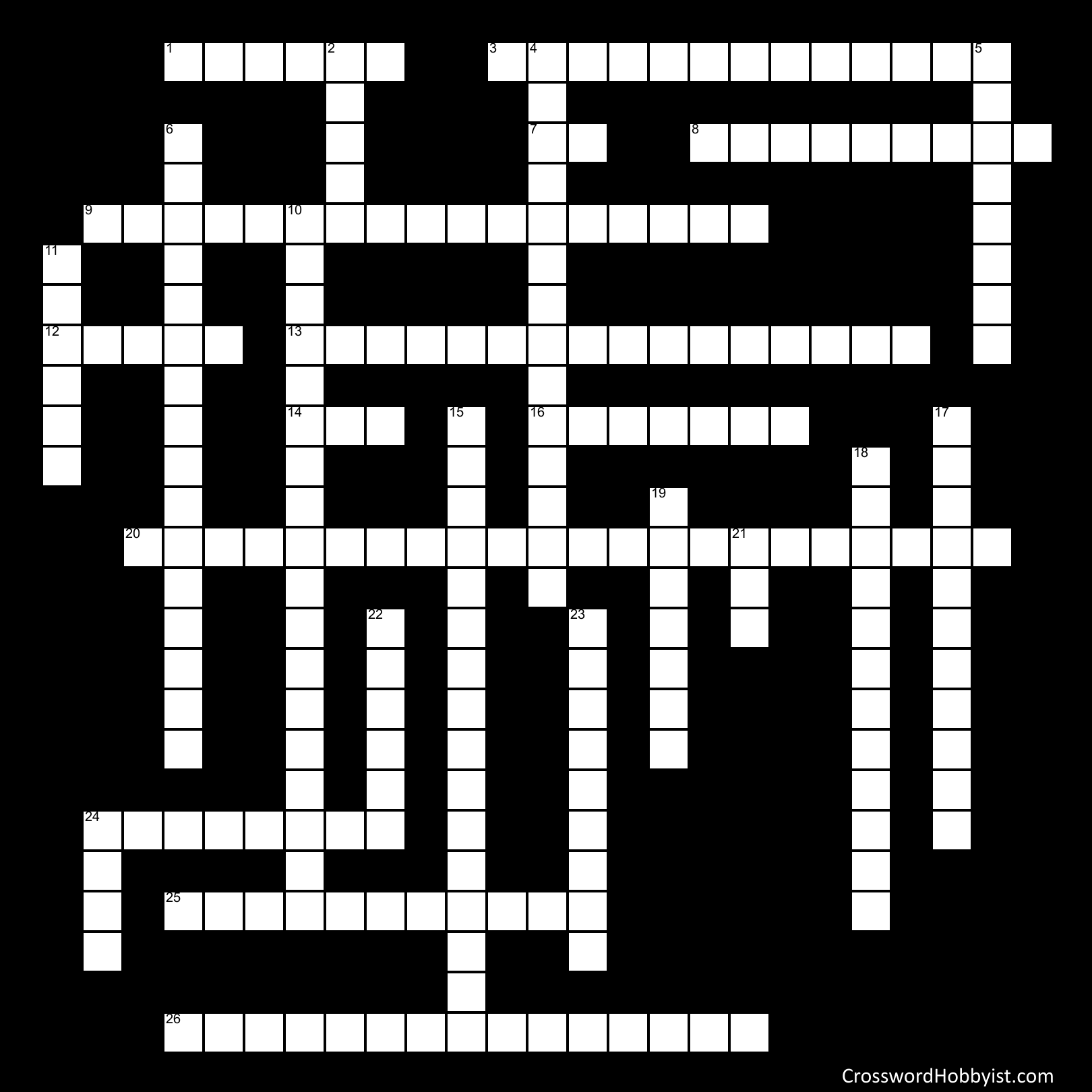 EXECUTIVE BRANCH CROSSWORD PUZZLE - Crossword Puzzle