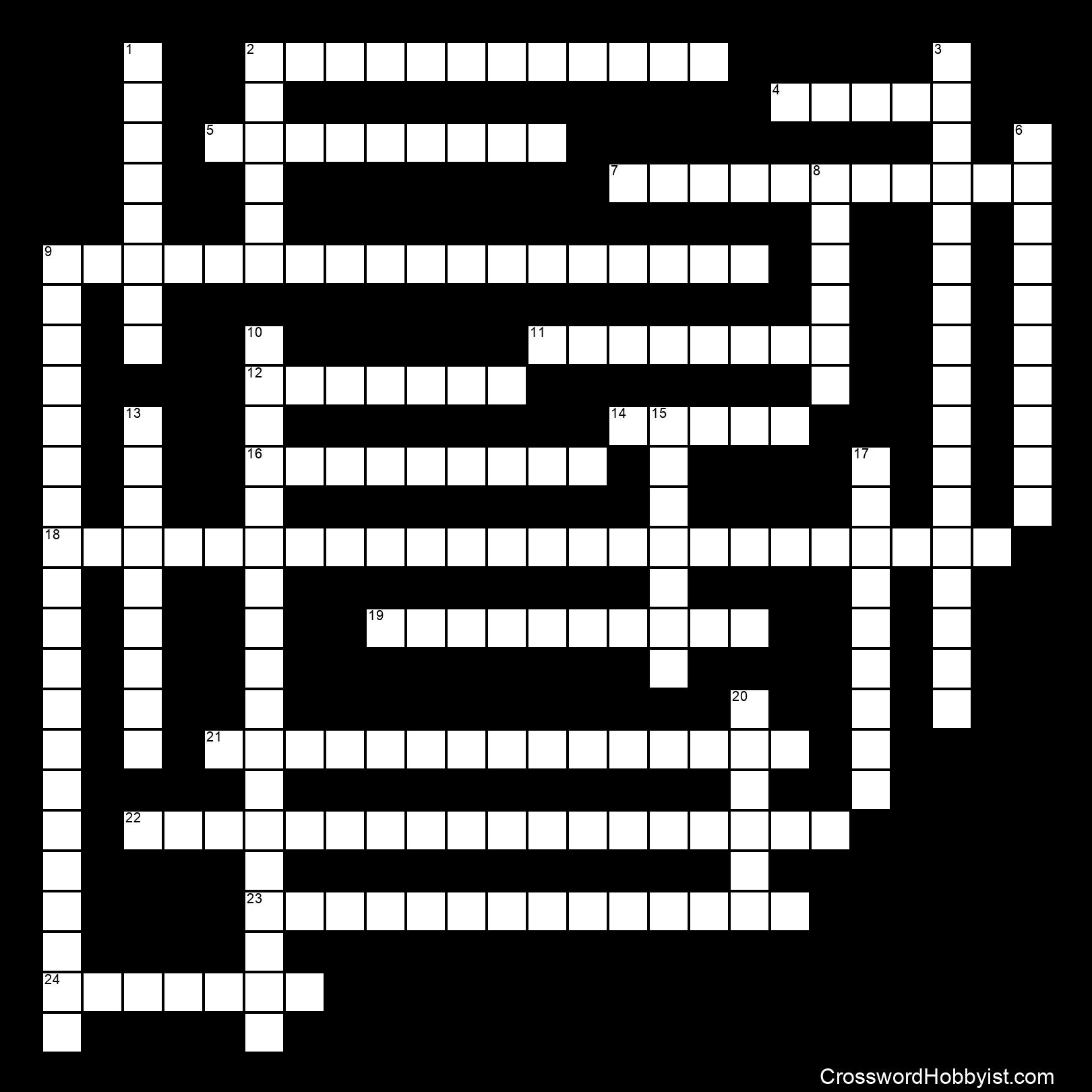 Ecology Review - Crossword Puzzle
