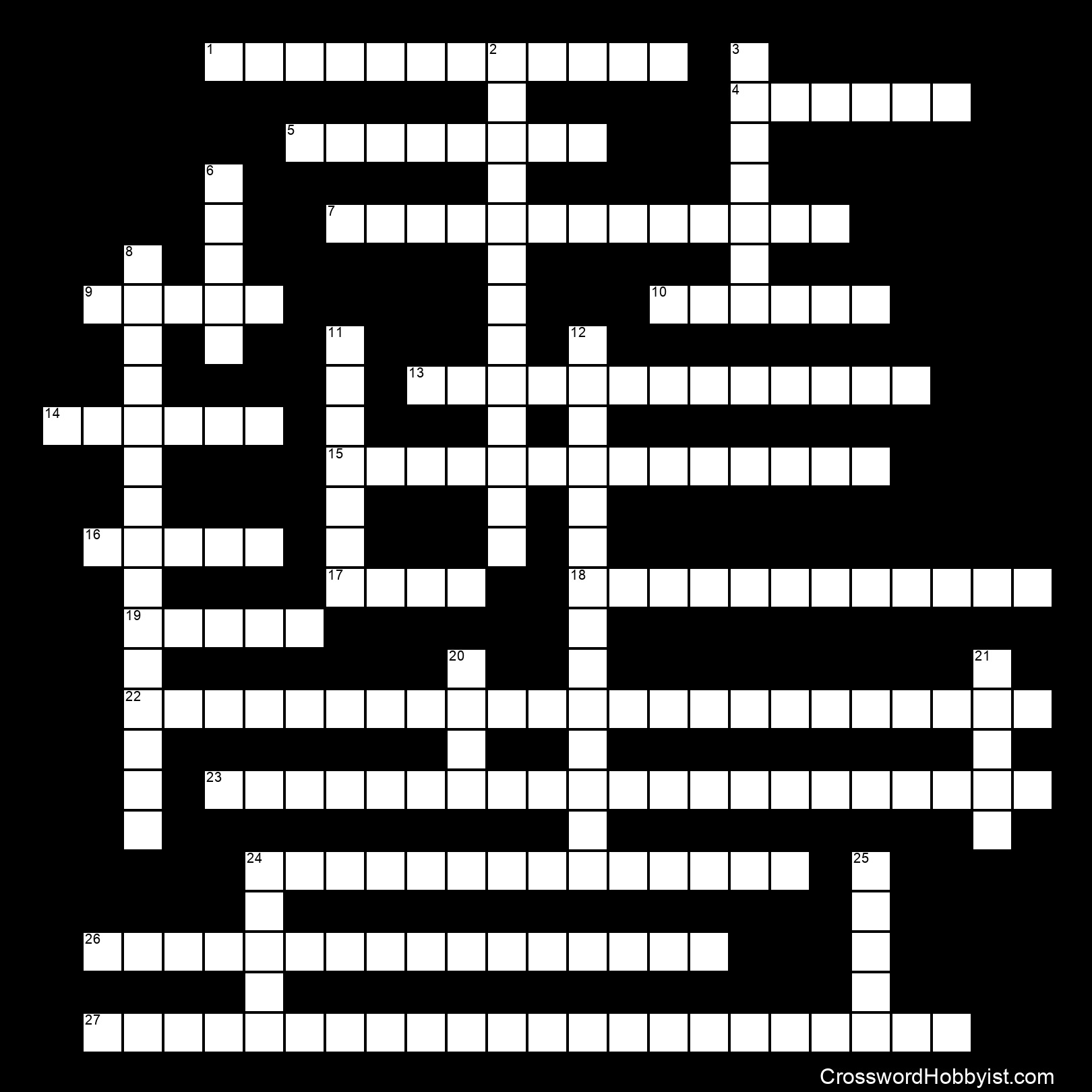 Great Expectations 2 - Crossword Puzzle