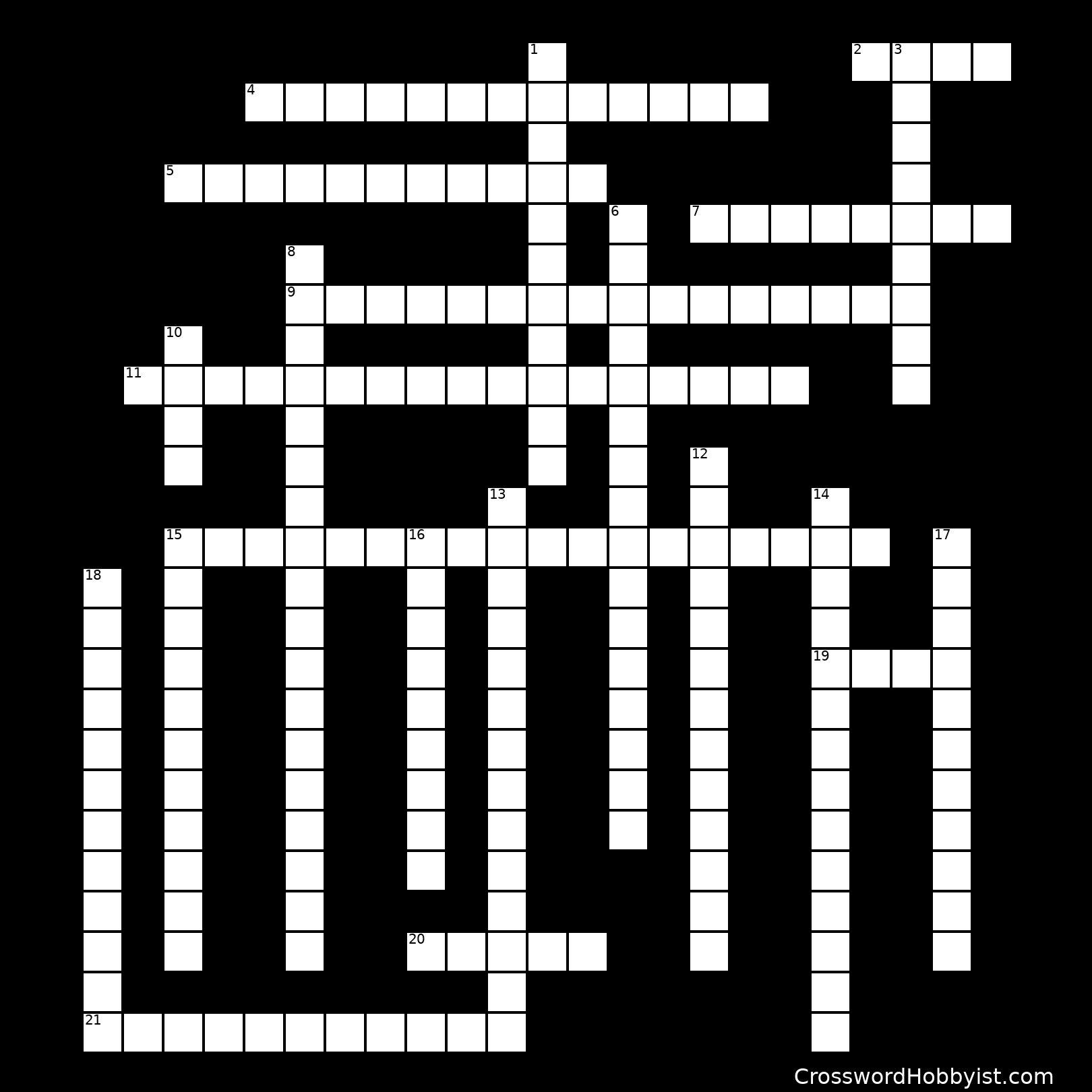 Harlem Renaissance - Crossword Puzzle