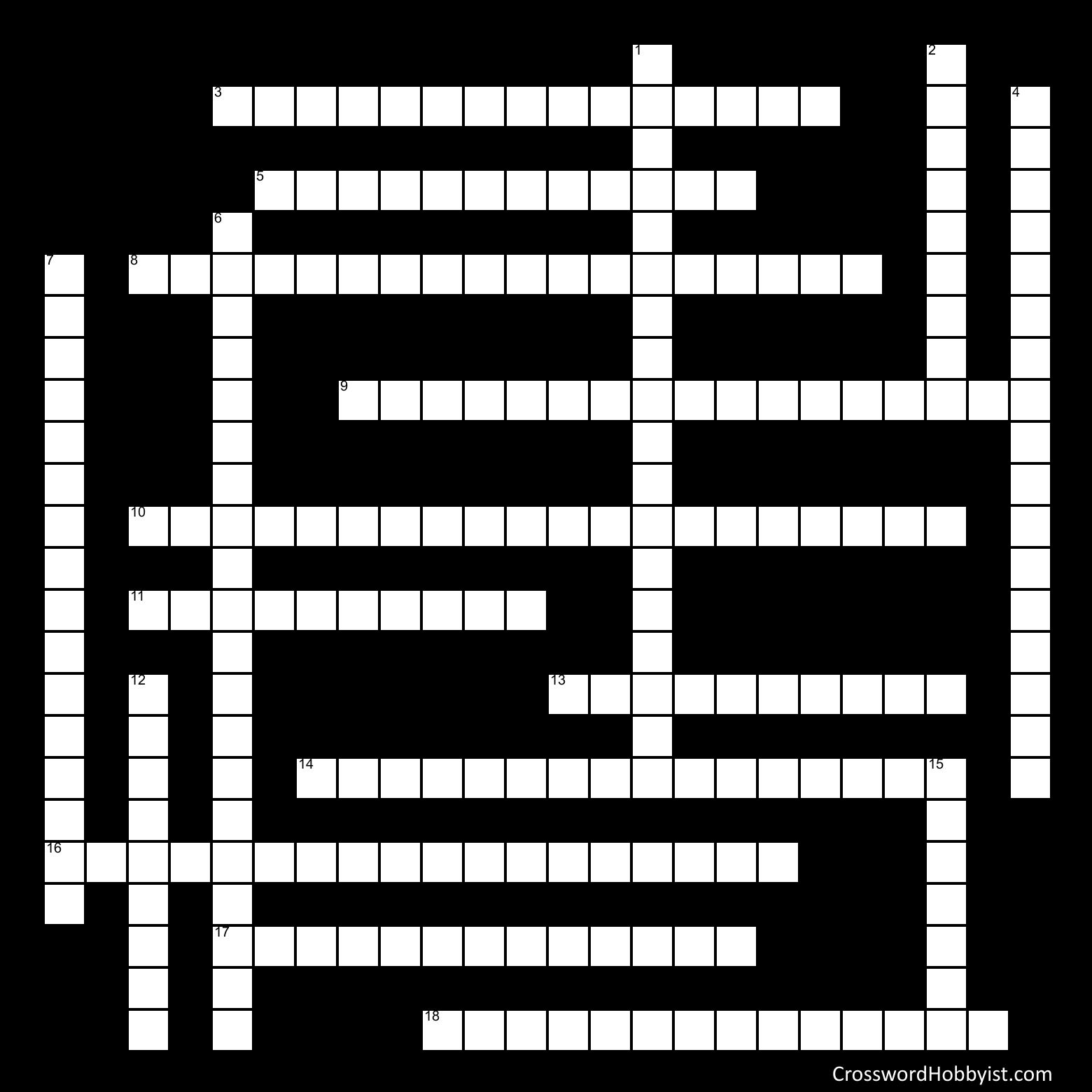 History Crossword - Crossword Puzzle