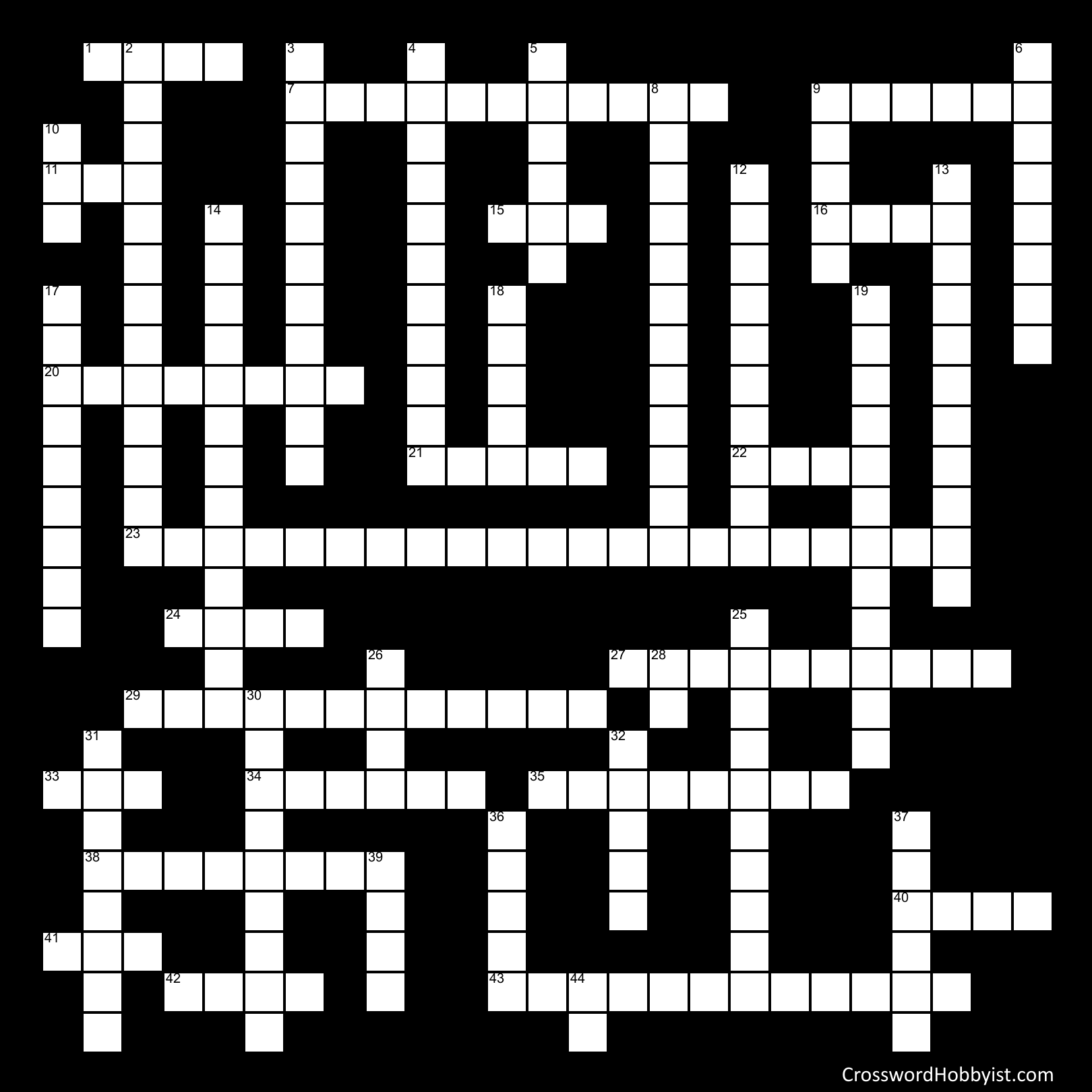 Integumentary System - Crossword Puzzle