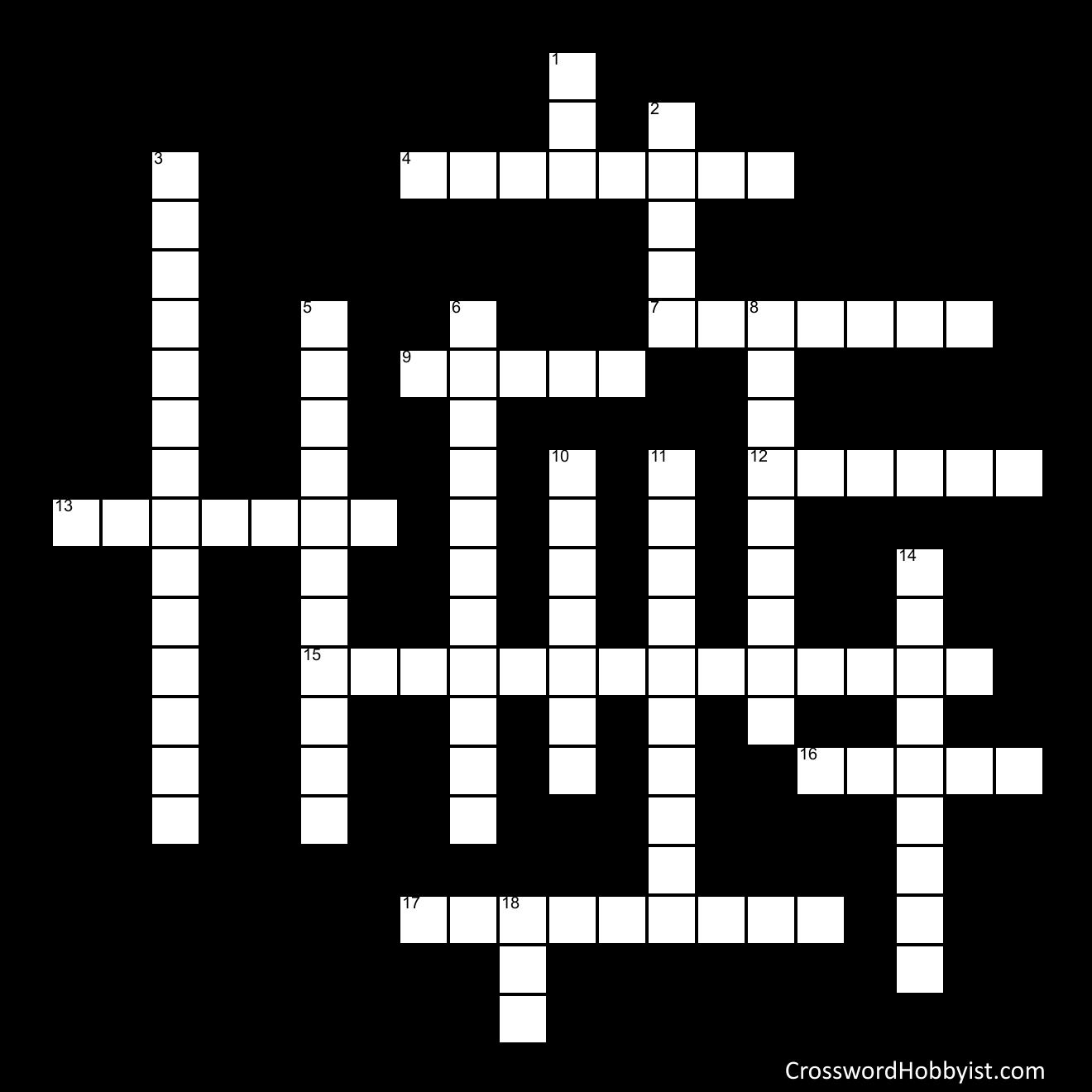 Life Science - Crossword Puzzle
