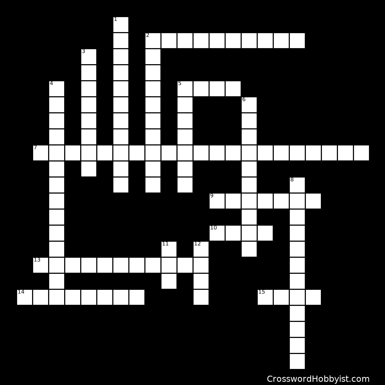 Ocean Currents Crossword Puzzle