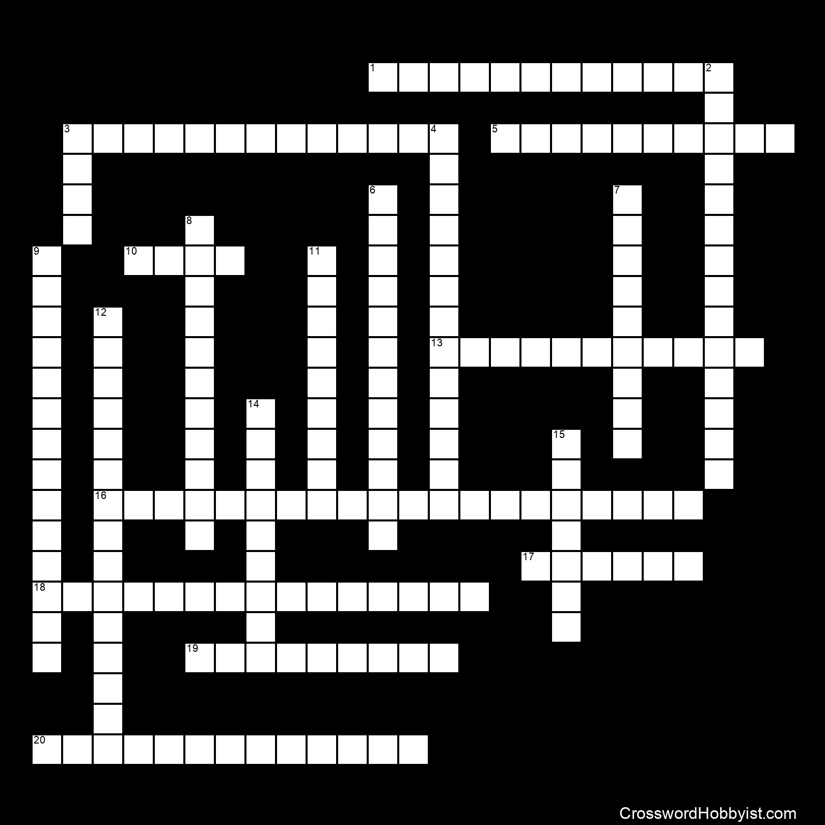 PARTS OF A NEURON - Crossword Puzzle