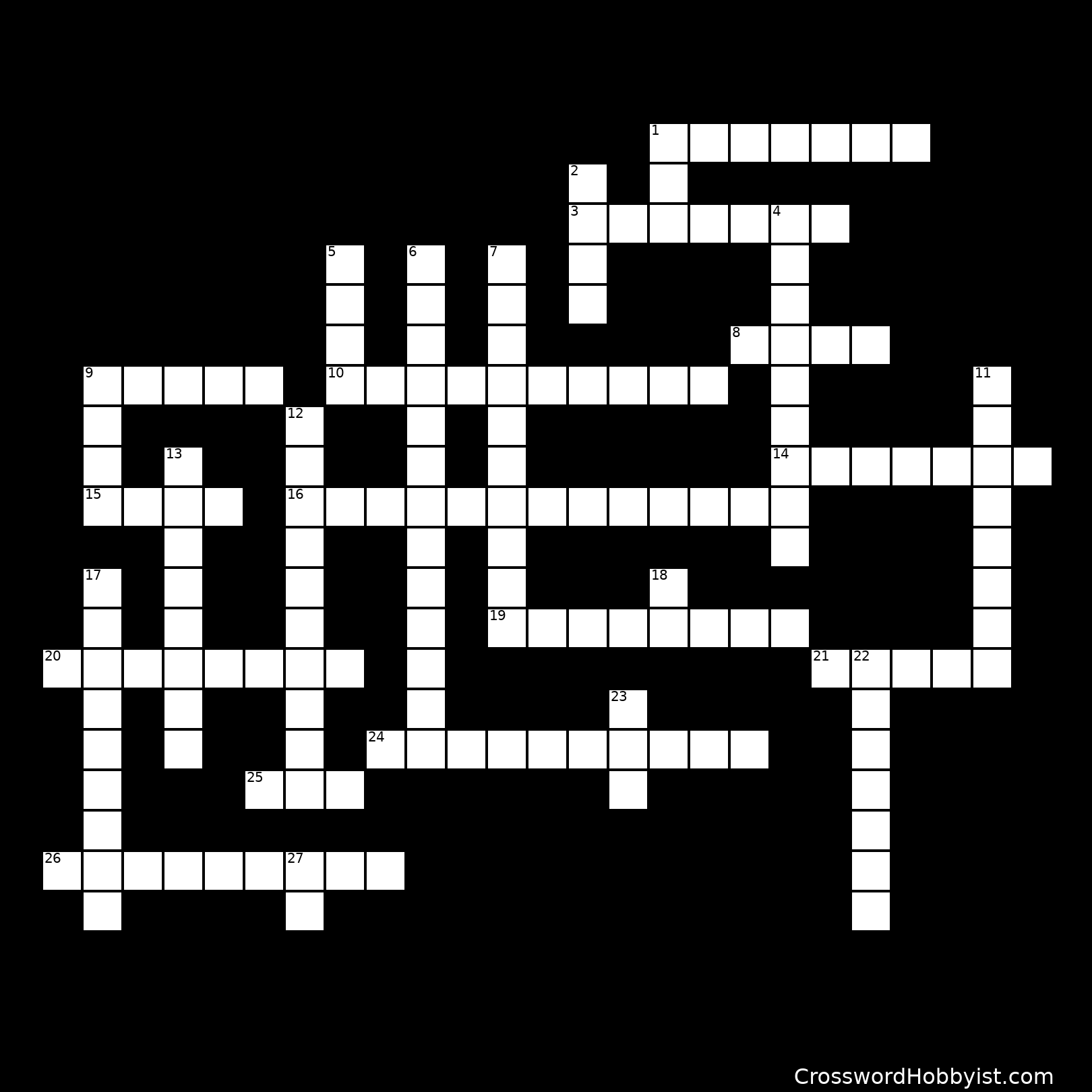 PRONOUN CROSSWORD PUZZLE - Crossword Puzzle