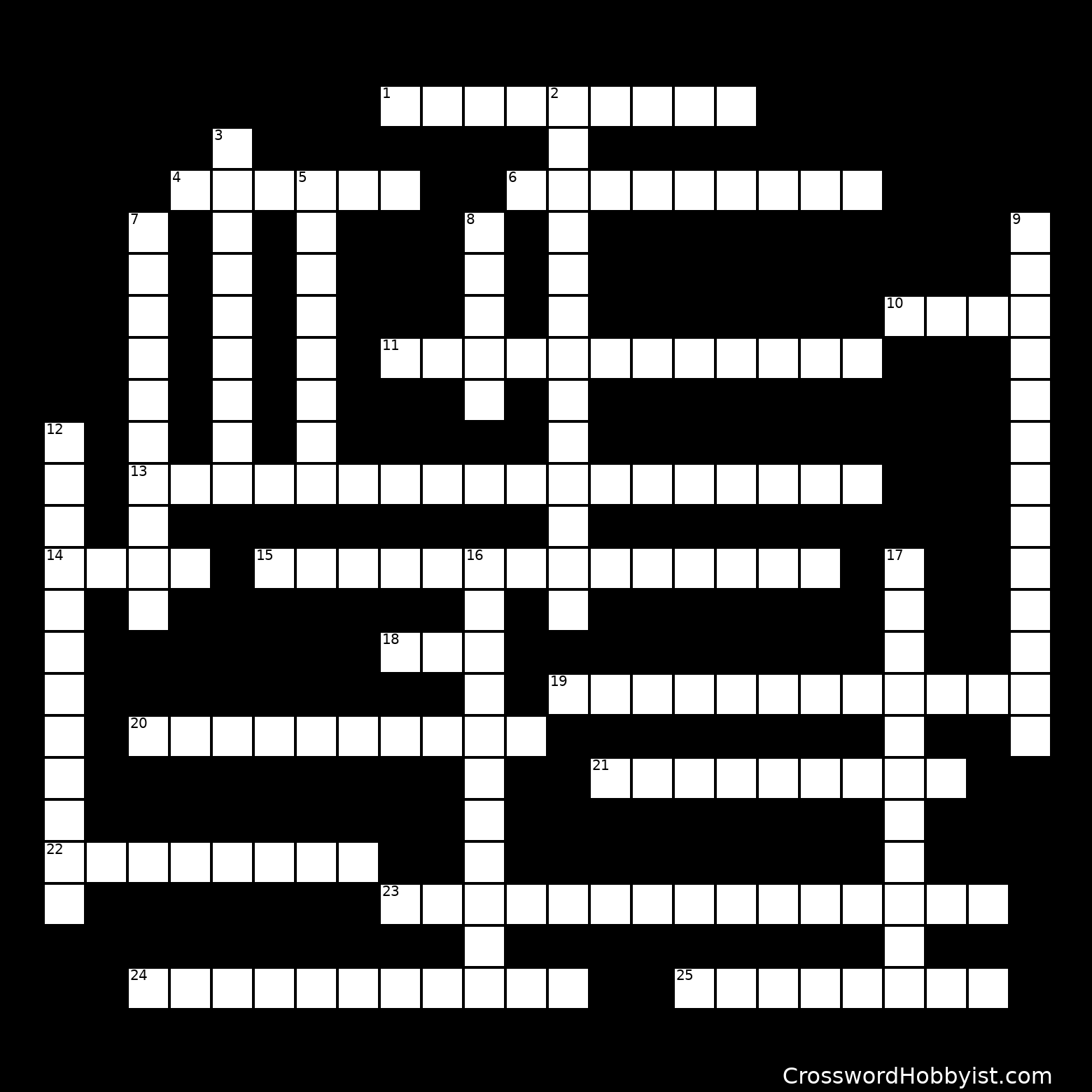 Psychology - Crossword Puzzle