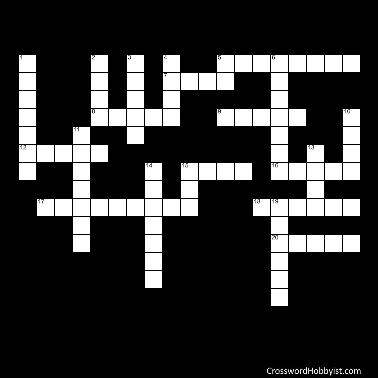 Teaching Help 6K - Crossword Puzzle