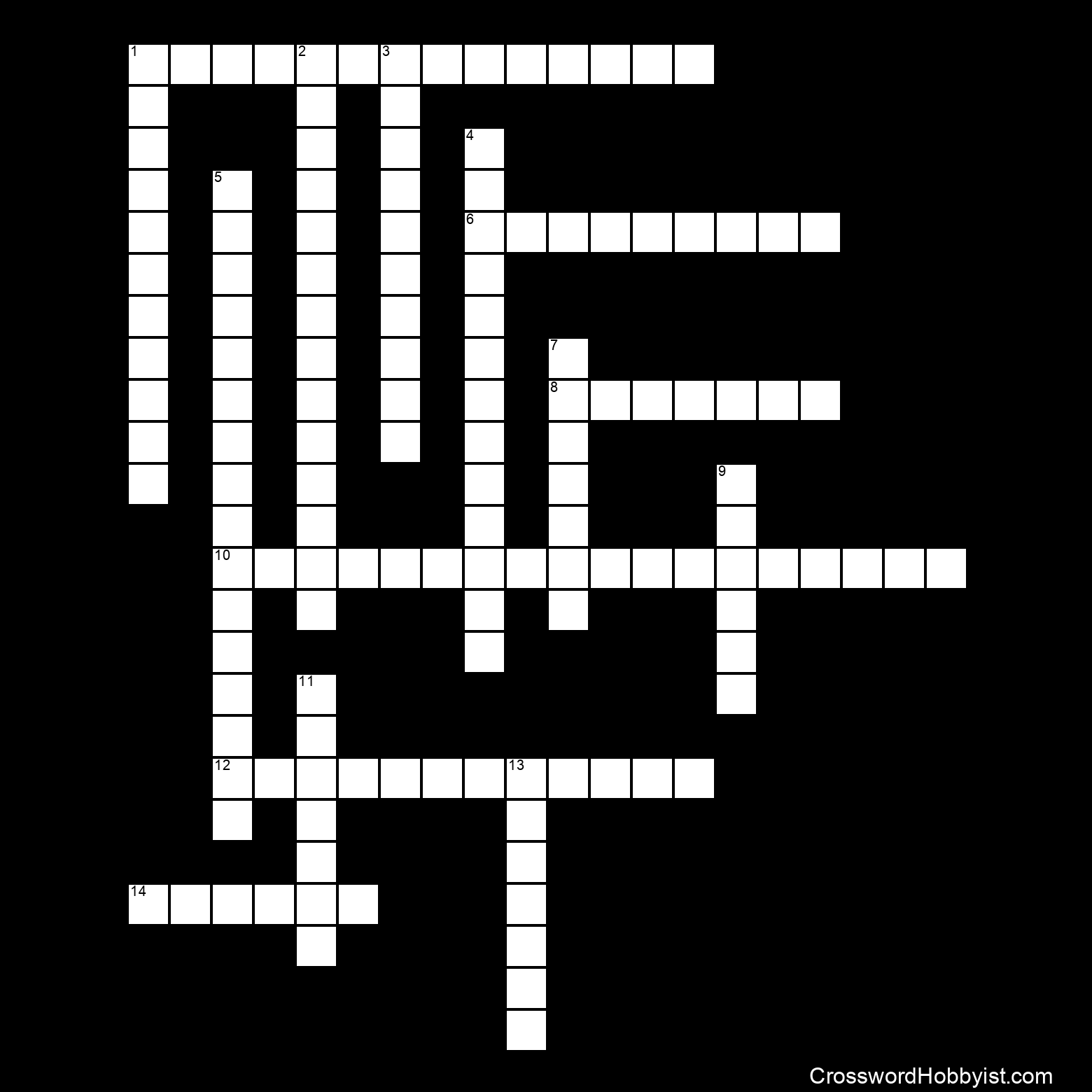 The Executive Branch Crossword Puzzle