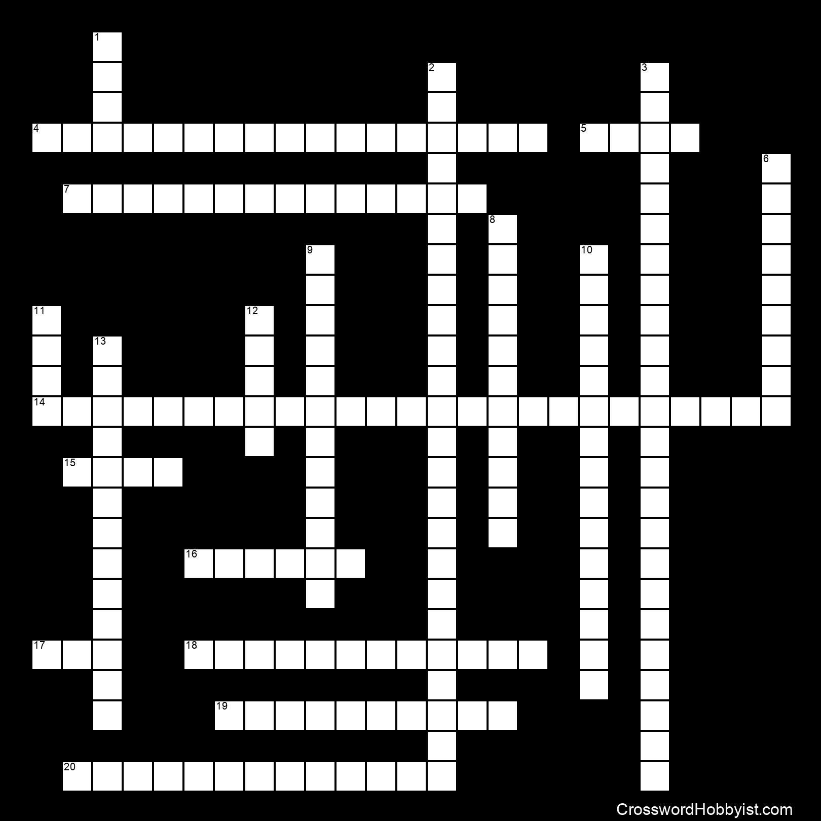 The Great Depression and New Deal - Crossword Puzzle