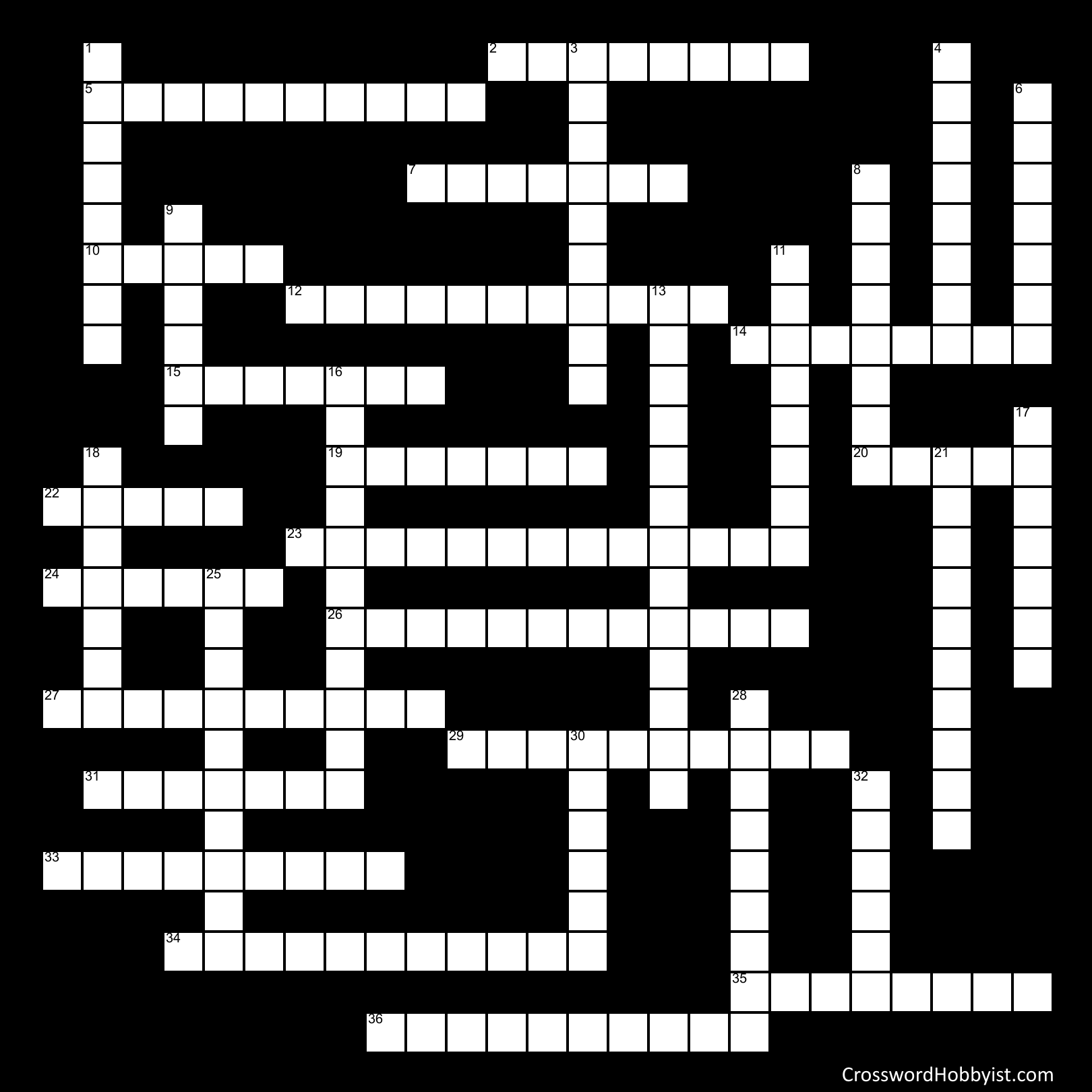 Tracy - Crossword Puzzle
