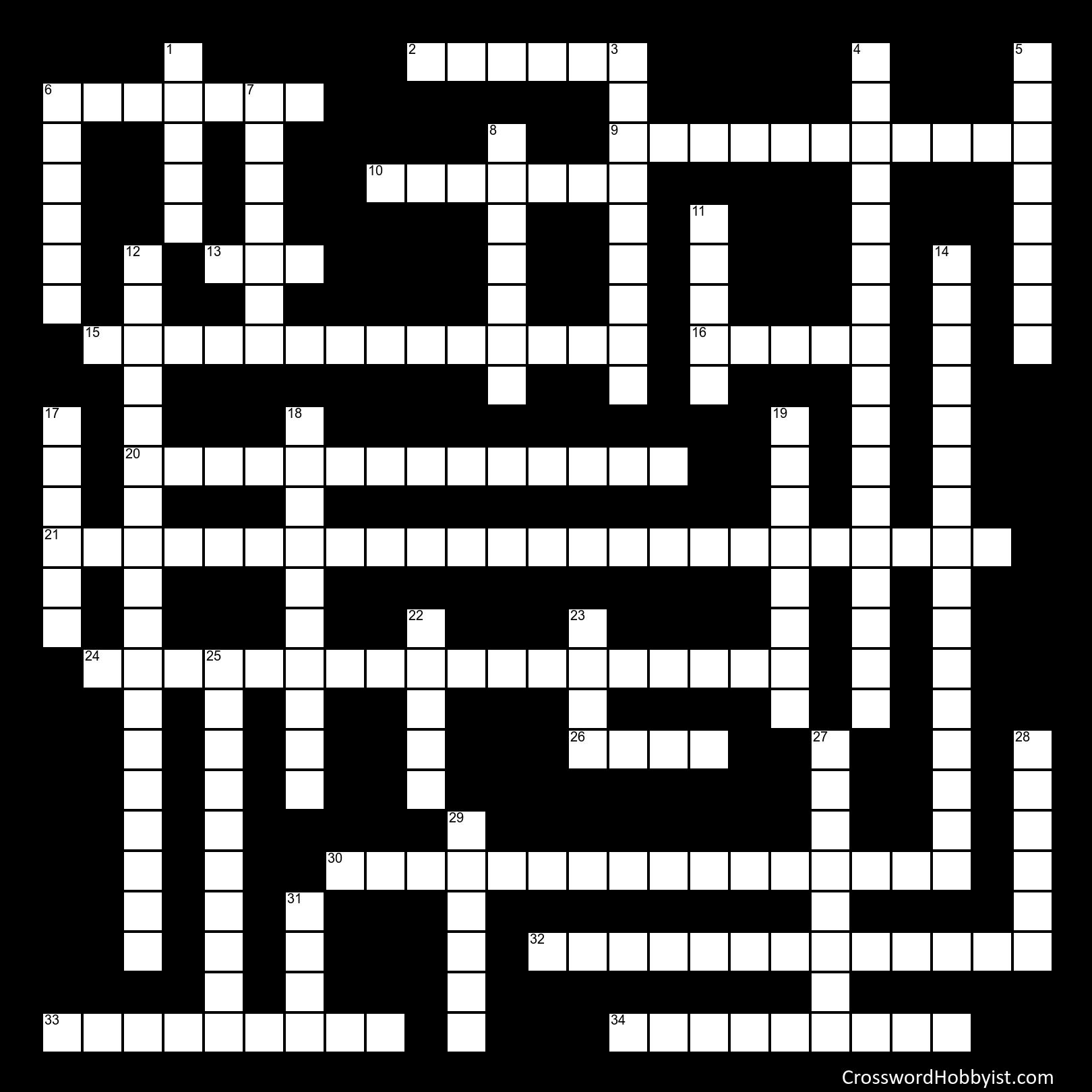 Veterans Day And President Trivia Crossword Puzzle