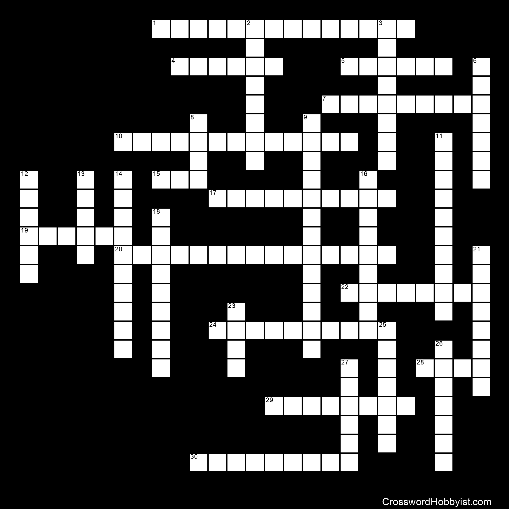WWI and the Russian Revolution - Crossword Puzzle